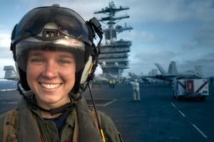 Women Navy officer