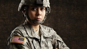 women soldier