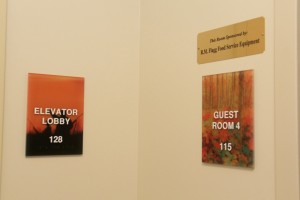 signs rooms
